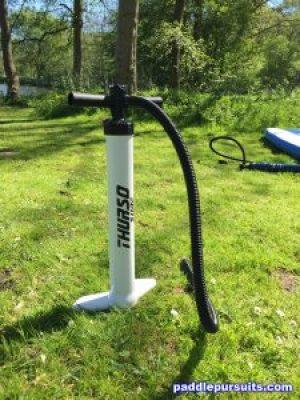 Thurso Surf Waterwalker paddleboard - dual action high pressure SUP pump