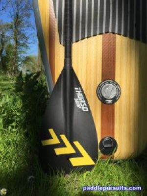 Thurso Surf Waterwalker paddleboard - light weight carbon fiber SUP paddle