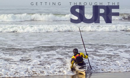 Getting through the surf