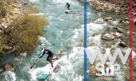WW SUP in the French Alps