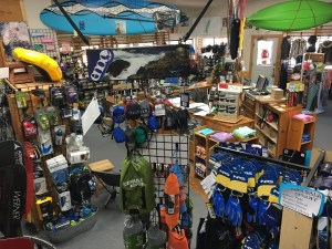 Sierra South Inside the Store | Aerial View