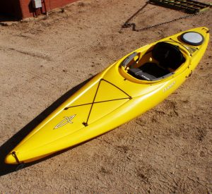 Dagger Zydeco 11.0   Yellow   Top View
