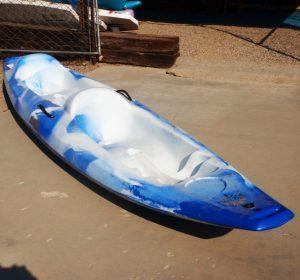 Jackson Kayak   Rivera Tandem   Blue White   Recreational Kayak