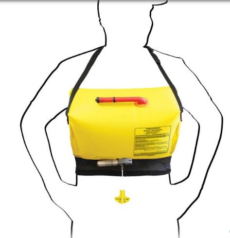 Stohlquist Contour Inflatable PFD | How to use