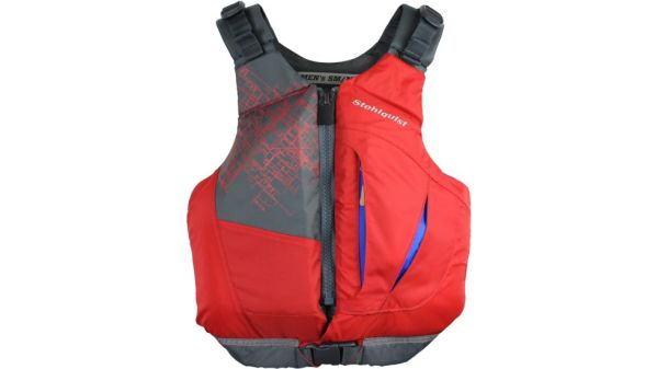 Stohlquist Men's Escape PFD | Red | Front View