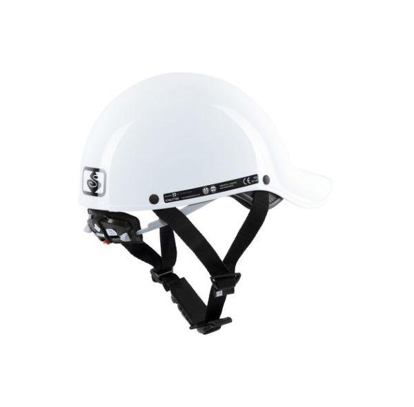 Strutter Helmet | Gloss White | Back View