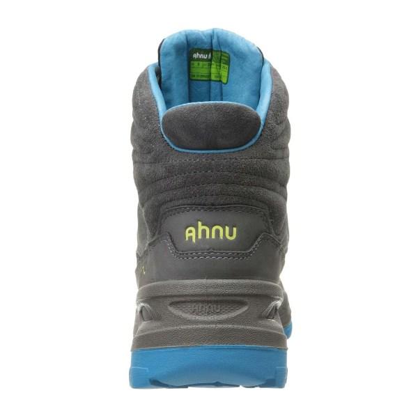 Women's Ahnu North Peak Event Hiking Boot | Dark Grey | Back View