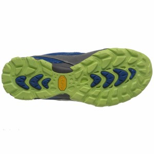 Women's Ahnu Sugarpine Air Mesh Hiking Shoe | Tahoe | Bottom View