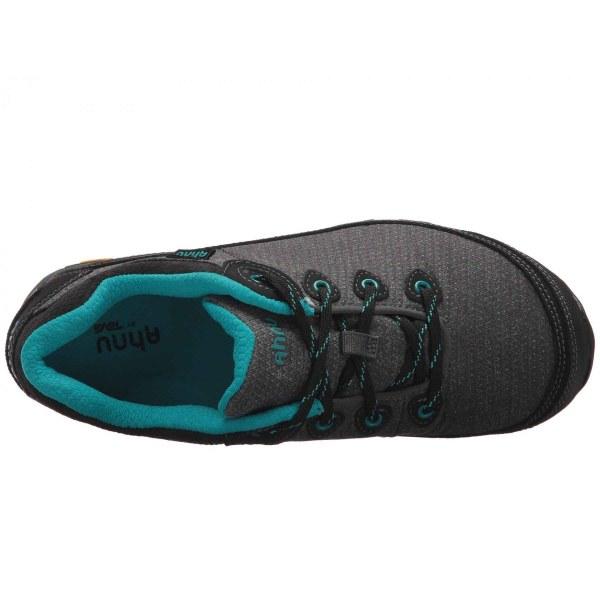 Women's Ahnu by Teva Sugarpine II Waterproof Hiking Shoe   Black   Top View
