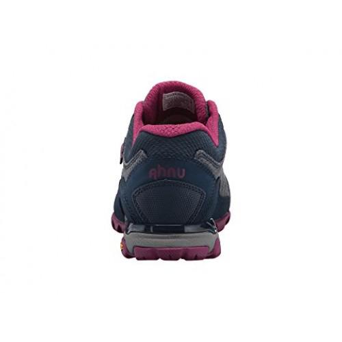 Women's Ahnu by Teva Sugarpine II Waterproof Hiking Shoe   Insignia Blue   Back View