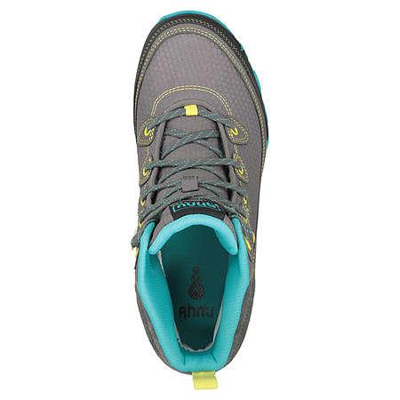 Women's Ahnu Sugarpine Waterproof Hiking Boot | Dark Grey | Top View