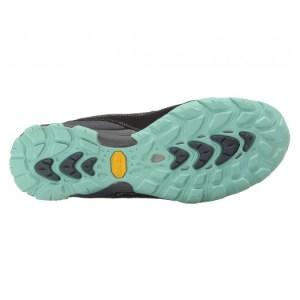 Women's Ahnu Sugarpine Waterproof Hiking Shoe | Dark Slate | Bottom View