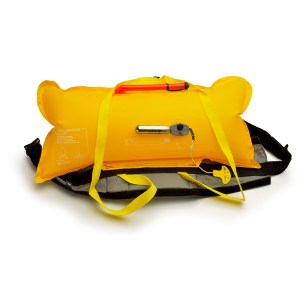 Unisex Astral Inflatable Waist Airbelt PFD   Black   Inflated View