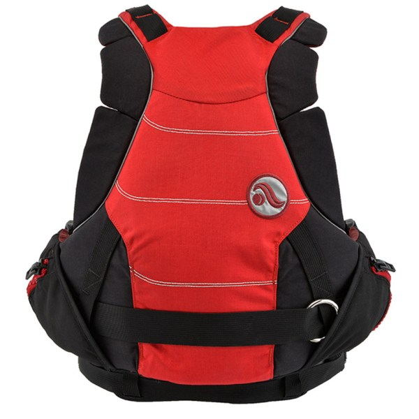 Unisex Astral GreenJacket PFD | Cherry Creek Red | Back View