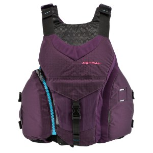 Women's Astral Layla PFD   Eggplant   Front View