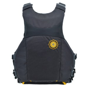 Men's Astral Ringo PFD | Basalt Black | Back View