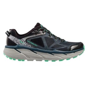 Women's Hoka One One Challenger ATR 3 Trail Running Shoe | Midnight Navy Spring Bud | Side View