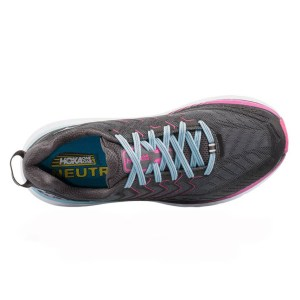 Women's Hoka One One Clifton 4 Running Shoe | Castle Rock Asphalt | Top View