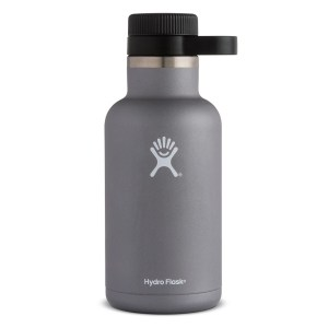 Hydro Flask Beer Growler 64 Ounce Bottle | Graphite