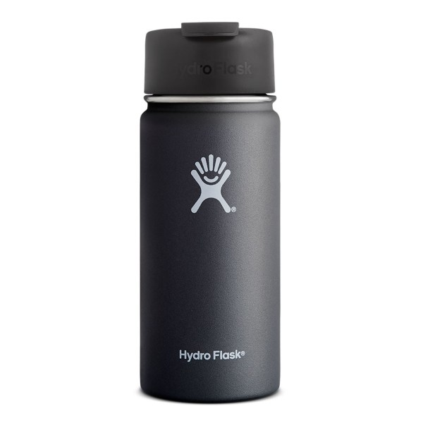 Hydro Flask Coffee Flask 16 Ounce Bottle | Black