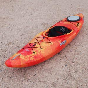 Jackson Kayak's Crossover Kayak Karma Traverse 9   Sunrise