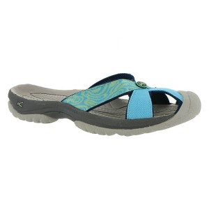 Women's Keen Bali Flip Flop | Norse Blue Opal | Side View