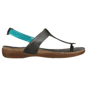 Women's Keen Dauntless Posted Sandal | Burnt Olive | Side View