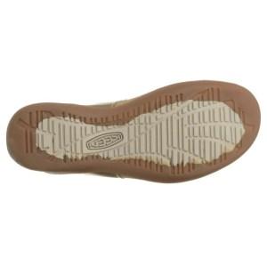 Women's Keen Dauntless Posted Sandal | Semolina | Bottom View