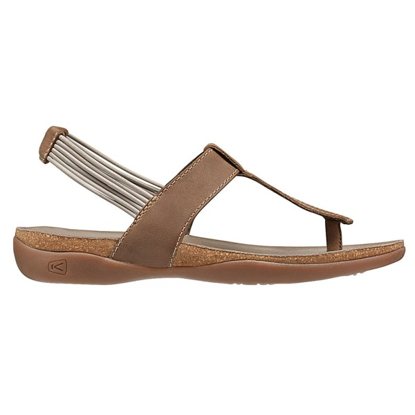 Women's Keen Dauntless Posted Sandal | Semolina | Side View