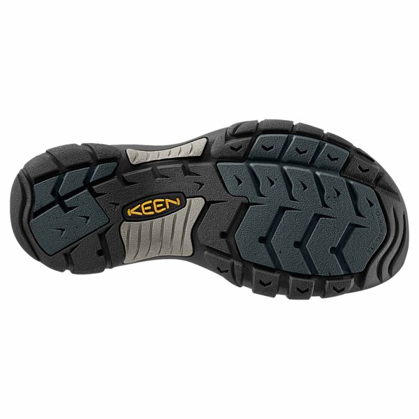 Men's Keen Newport H2 Hiking Sandal | Navy Medium Grey | Bottom View