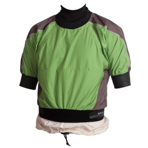 Unisex Kokatat Blast Paddle Jacket | Green | Front View