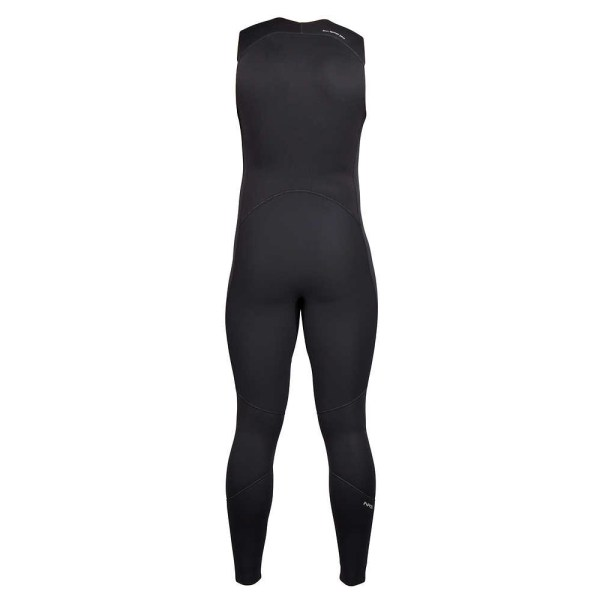 Men's NRS Farmer John 2.0 Wetsuit | Black | Back View