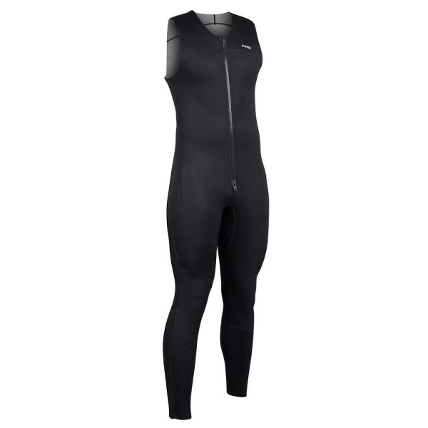 Men's NRS Farmer John 2.0 Wetsuit | Black | Side View