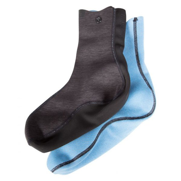 Unisex NRS Hydroskin 0.5 Sock | Black | Inside View