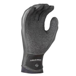 Unisex NRS Maverick Gloves | Black | Palm View