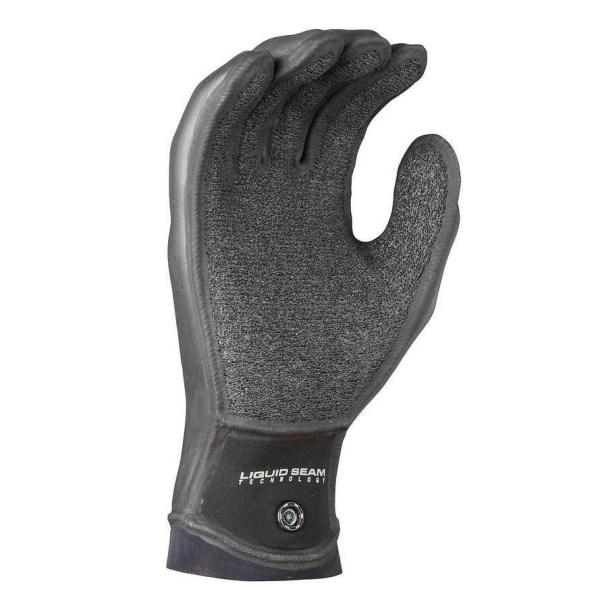 Unisex NRS Maverick Gloves   Black   Palm View
