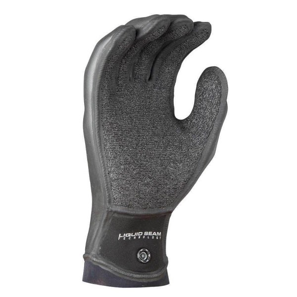 Unisex NRS Maverick Gloves | Black | Palm View