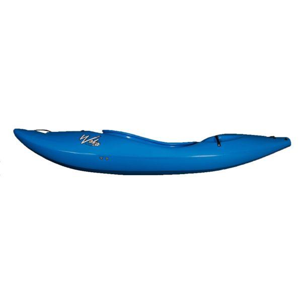 Waka Kayaks OG Whitewater Kayak River Runner   Blue   Side View