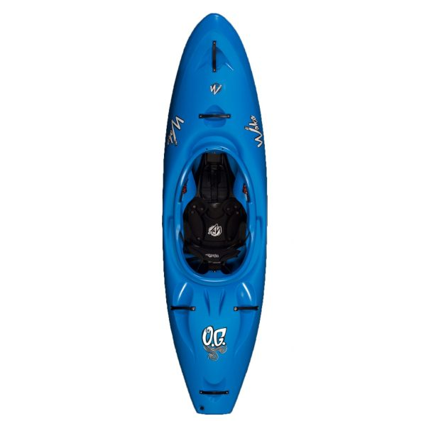 Waka Kayaks OG Whitewater Kayak River Runner   Blue   Top View