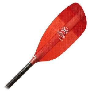 Werner Powerhouse Paddle | Blade Detail | Red
