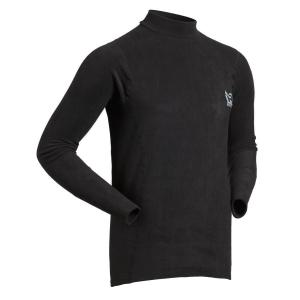 Men's Immersion Research Long Sleeves Thick Skin Top   Black   Front View