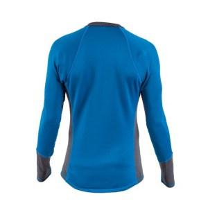 Men's Kokatat OuterCore Long Sleeve Shirt | Ocean | Back View