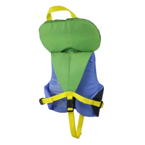 Stohlquist Nemo PFD | Infant | Blue/Green | Back View