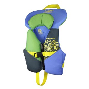 Stohlquist Nemo PFD   Infant   Blue/Green   Front View