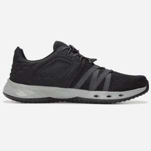 Teva Men's Float Churn Water Shoe | Black / Dark Shadow | Side View