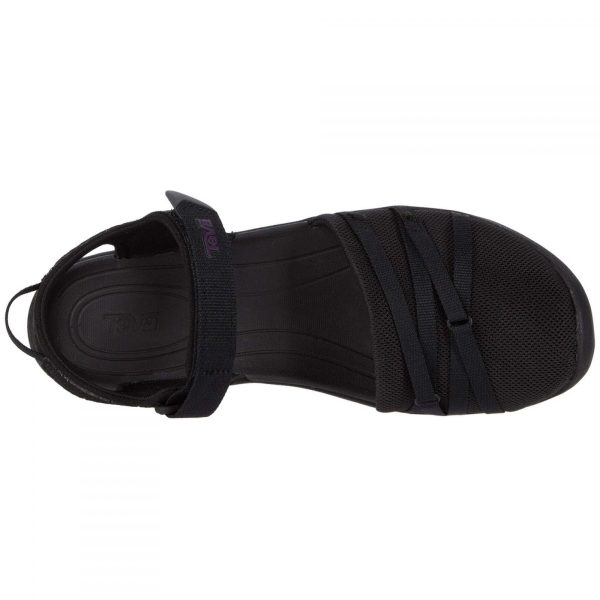 Teva Women's Tirra CT | Black | Top View