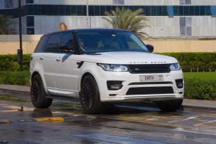 Rent Range Rover Sport White in Dubai