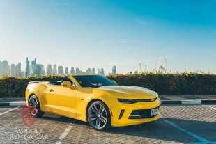 Rent Chevrolet Camaro Convertible in Dubai