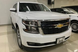 Rent Chevrolet Tahoe White in Dubai