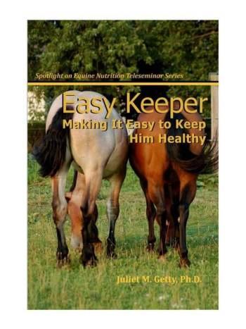 easy keeper boek voor eigenaren met paarden die overgewicht hebben